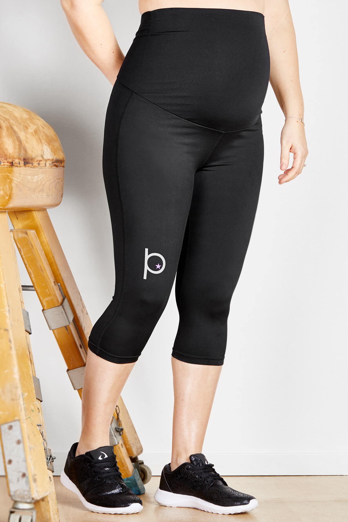 korta leggings gravid