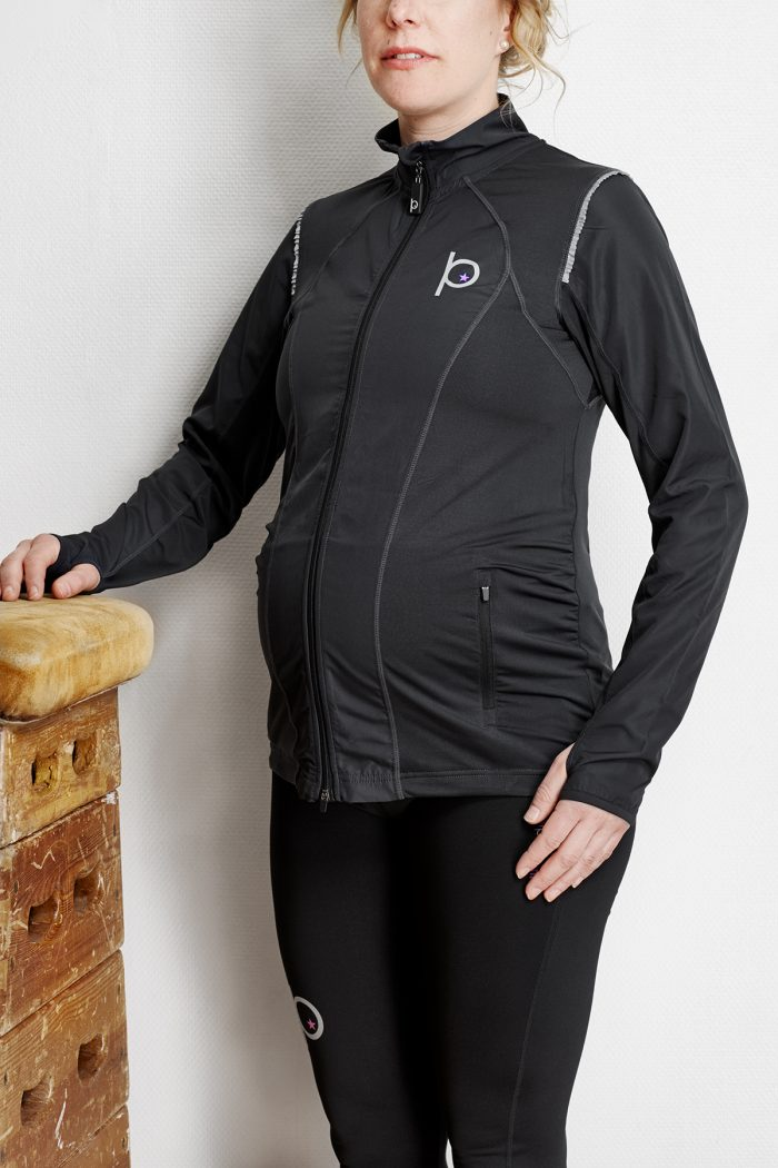 träningsjacka för gravida