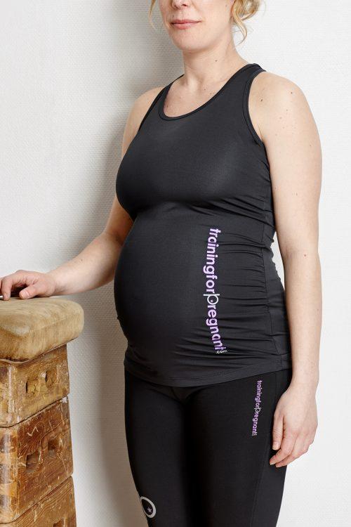 Träningslinne som passar både under och efter graviditet.