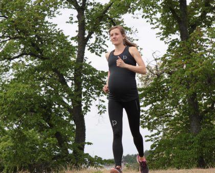 Träningskläderna jag har bott i som gravid - Josefine Antonsson på runnersworld.se