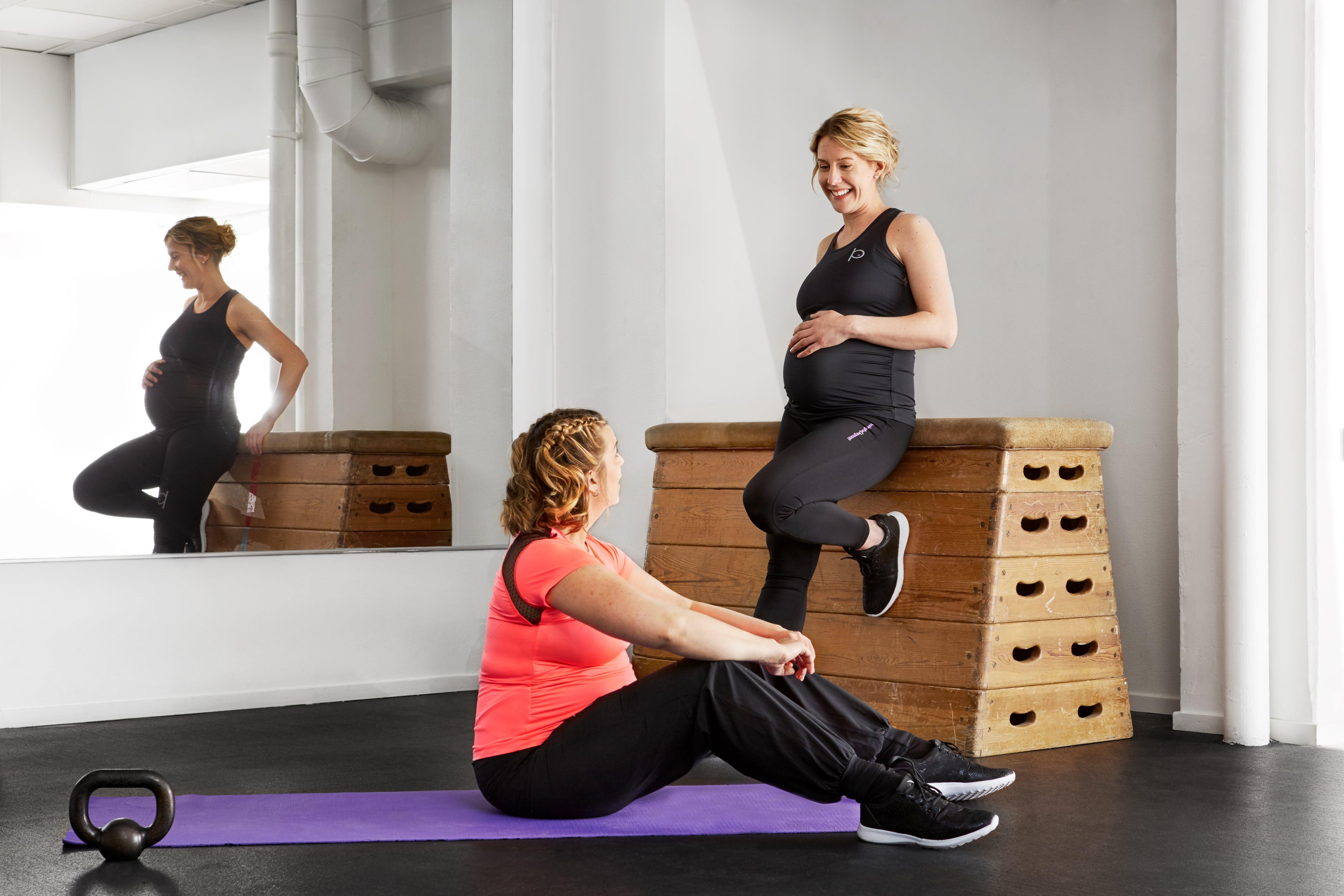 Mammakläder för träning