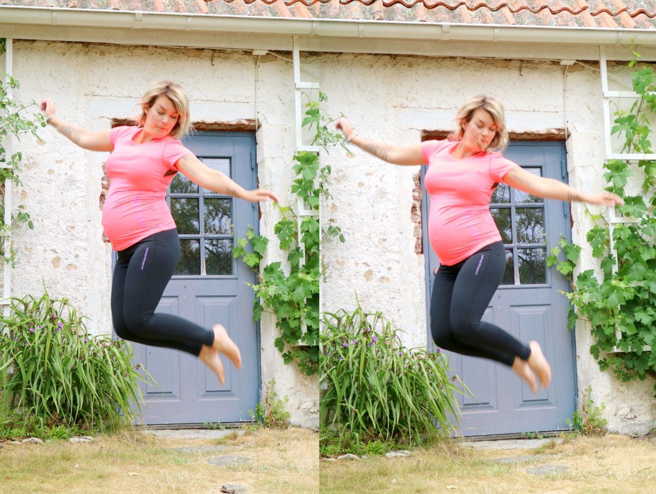 Cykla som gravidträning bra tips från Anna ritar