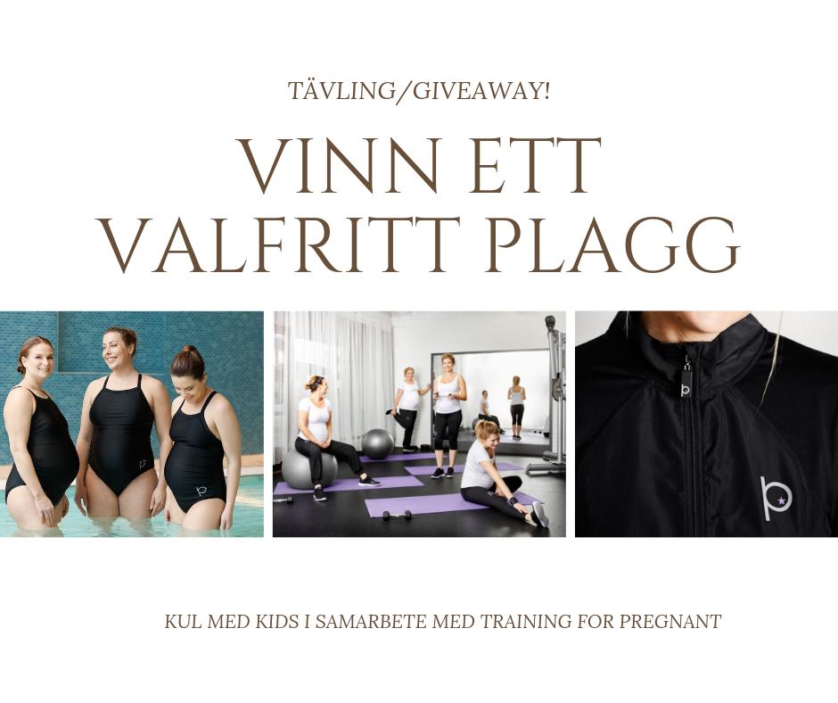 Giveaway med Kul med kids, tillfälle för er gravida som är träningsintresserade