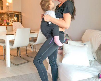 Mammakläder för gravida och träningssugna