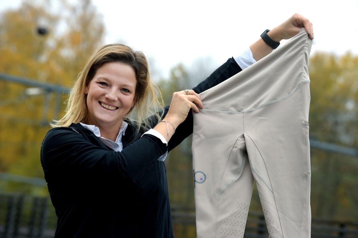 Klädmärke för gravida skriver Värnamo Nyheter om