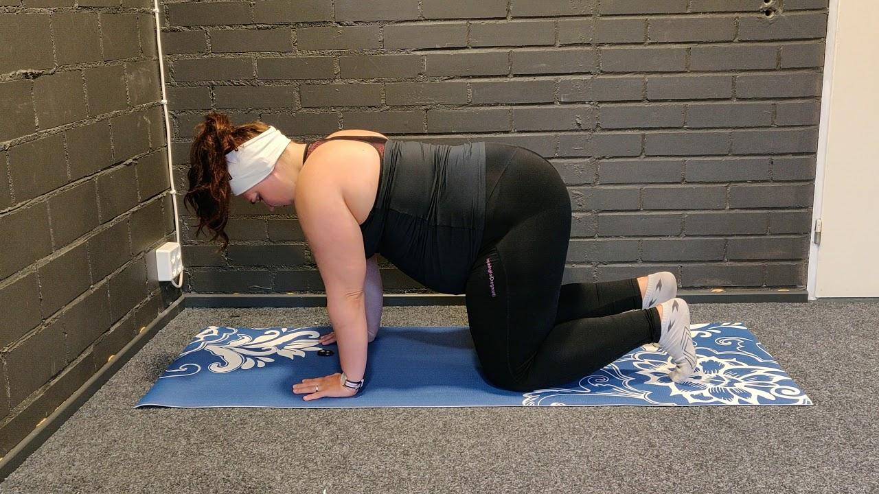 Hur hittar/tränar jag det inre stödet (mage/bäckenbotten)? - Fanny Indola